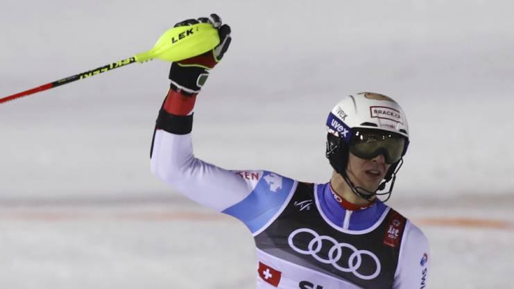 Ramon Zenhäusern - zusammen mit Wendy Holdener im Team-Wettbewerb unschlagbar.