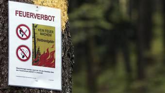 Das Feuervebot bleibt im Kanton Aargau bestehen. (Symbolbild)