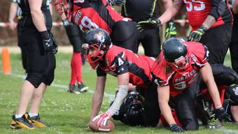 Die Argovia Pirates bestreiten gegen die St. Gallen Bears ihre erstes Heimspiel der Geschichte.