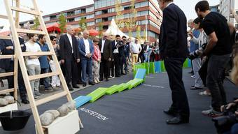 Kopie von Impressionen vom Baustart der Limmattalbahn in Schlieren