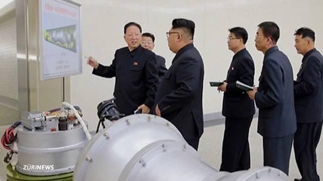 Nordkorea zündet Wasserstoffbombe
