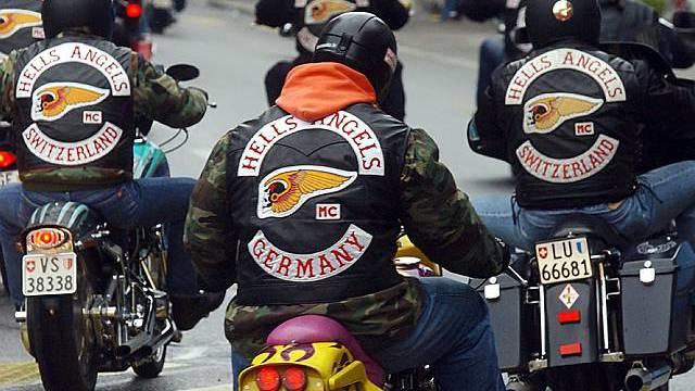 Hells Angels richteten im Kanton Aargau grossen Sachschaden an (Symbolbild)
