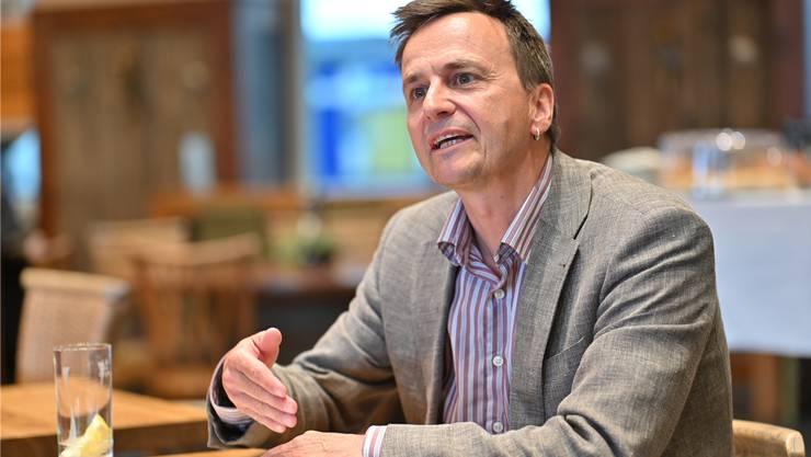 Vom Projekt überzeugt: Der neue Geschäftsführer Otto Holzgang. Bruno Kissling