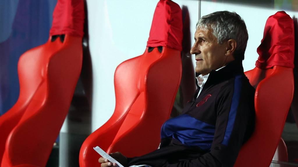 Barcelona trennt sich von Trainer Quique Setien