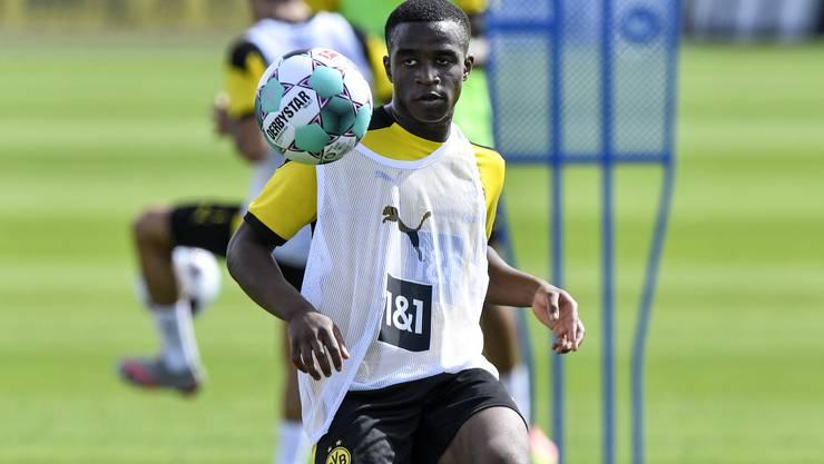 Ist viel weiter als seine Alterskollegen: Dortmunds Youssoufa Moukoko.