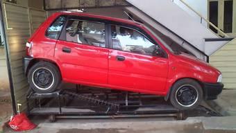 Ganz schön innovativ, diese Mini-Garage ...