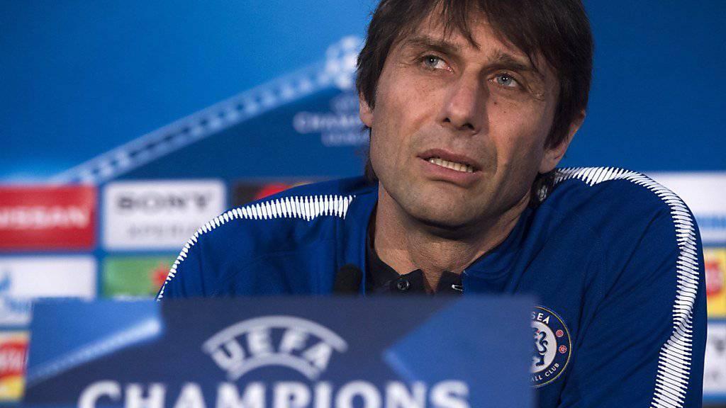 Antonio Conte ist bei Chelsea nicht mehr unumstritten.