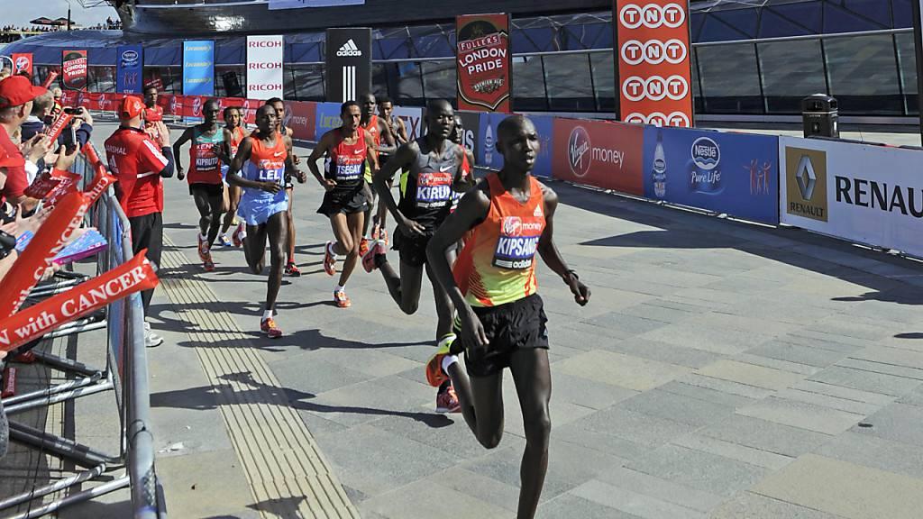 Marathon-Star Kipsang eine Nacht im Gefängnis