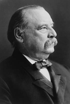 Grover Cleveland ist der bislang einzige Amerikaner, der abgewählt wurde (1889) und vier Jahre später erneut ins Weisse Haus einzog.