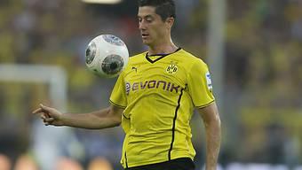 Dortmunds Matchwinner Robert Lewandowski.