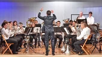 Die Musikgesellschaft Konkordia Aedermannsdorf unter der Leitung von Bernhard Wüthrich überzeugte an ihrem diesjährigen Frühlingskonzert mit einem vielseitigen Programm und musikalischem Können. Remo Fröhlicher