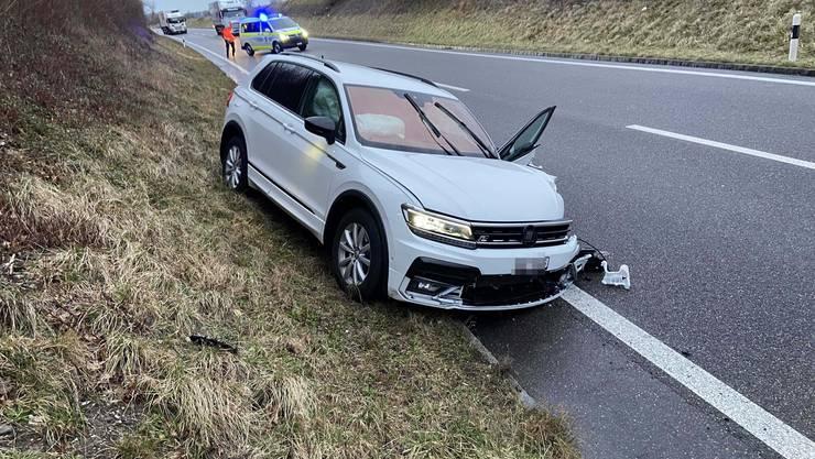 Der 68-jährige Lenker im VW Tiguan nickte am Steuer ein und geriet auf die Gegenfahrbahn.