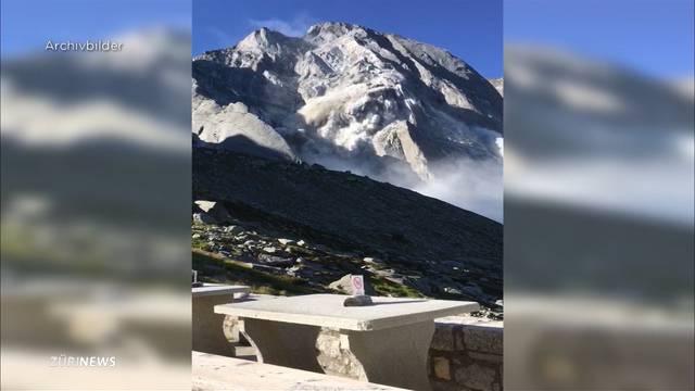 Berg bei Bondo seit Juli wieder in Bewegung