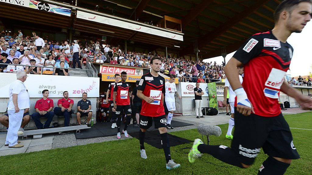 FC Aarau darf über 1000 Zuschauer empfangen