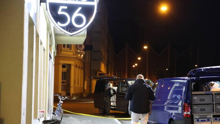 Tatort war das Café 56 im Kleinbasel.