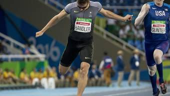 Profitiert in Berlin auch von einer Disqualifikation seines Konkurrenten: der Schweizer Philipp Handler