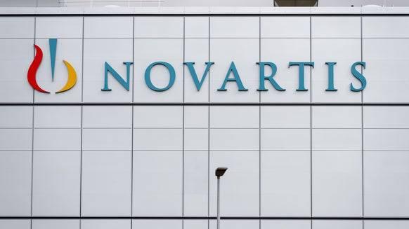 Besucher und Mitarbeiter von Novartis müssen seit Montag eine Maske tragen.