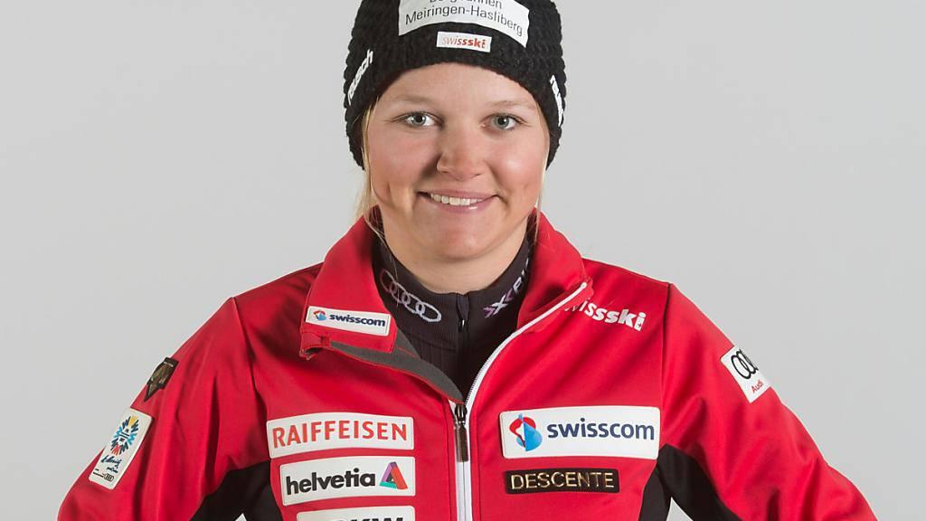 Grosser Erfolg für Katja Grossmann: An der Junioren-WM in Are gewann die Berner Oberländerin Silber in der Abfahrt