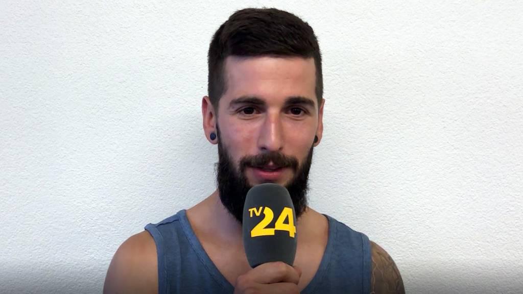 Ninja-Athlet Sergio über seinen bevorstehenden Run