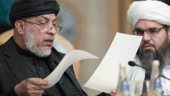 An der Afghanistan-Konferenz in Moskau nehmen erstmals auch die Taliban teil.