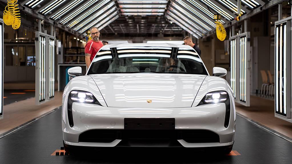 Trotz Coronakrise: Porsche hat 2020 den Umsatz leicht gesteigert. (Archiv)
