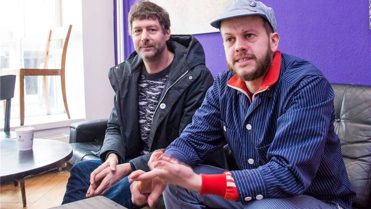 Christoph Mörikofer (l.) und Christian Mueller bündeln an eigenen Veranstaltungen Anliegen der Bevölkerung, um diese dann offiziell vorzustellen. Nicole Nars-Zimmer