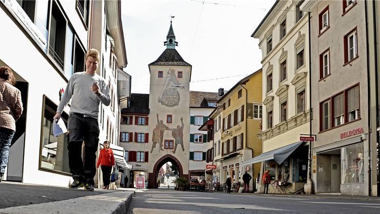 Das Törli am Ende der Rathausstrasse.