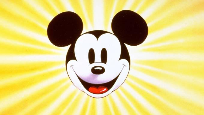 Alles begann mit Mickey Mouse. Heute dominiert Disney Hollywood und fordert mit einem eigenen Streaming-Dienst Netflix heraus. Bild: Keystone