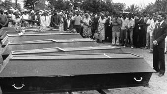 Mosambik befürchtet einen neuen Bürgerkrieg - Archivbild von 1987