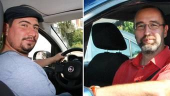 Tagtäglich fahren Francesco Sireci (l.) und Daniel Adler (r.) mit dem Auto zur Arbeit. Ihr Umgang mit Stau ist dabei ganz unterschiedlich