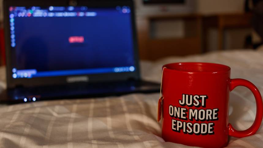 Vernetzt: Netflix sorgt für tote Hose im Bett