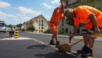 Der Betrag, den die Gemeinden im Strassenbau sparen können, soll sich auf 12 Millionen pro Jahr belaufen. (Symbolbild)