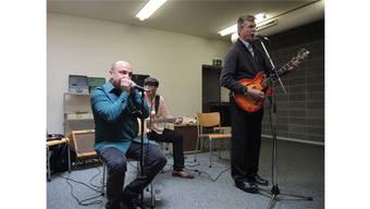 Skoller, Baschung und Flynn (v.l.) wechselten sich beim Gesang ab.