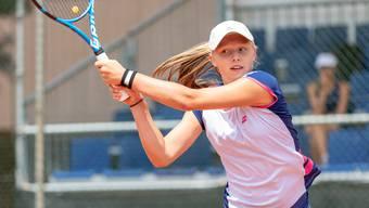 «In erster Linie möchte ich meine beste Leistung  abrufen können, aber mein Ziel ist  der Titel.»  - Sophie Lüscher, Tennisspielerin aus Seengen.