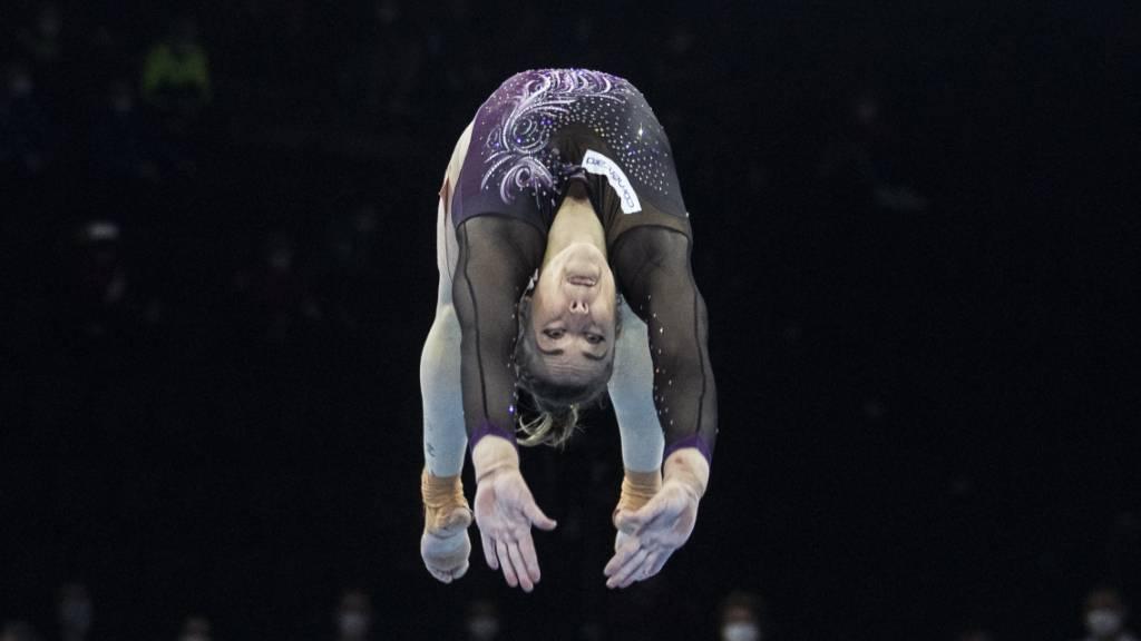 Giulia Steingruber bieten sich zwei Chancen auf eine Medaille
