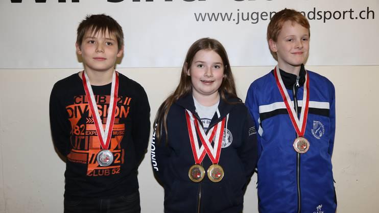 In der Kategorie U13 gewann Emely Gyger mit 180 Punkten vor Gian Allemann und Jonas Fiedler.