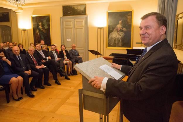 Vize-Vorsitzender des Krakauer Parlaments Slawomir Pietrzyk