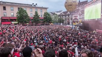 Das Finalspiel vom 18. Mai lockte tausende Fans in die Innenstadt - der Sicherheitsaufwand war enorm. (Archiv)