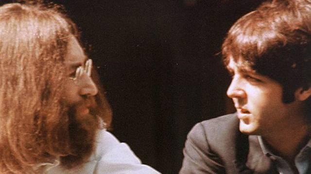 Lennon (l.) und McCartney (Archiv)