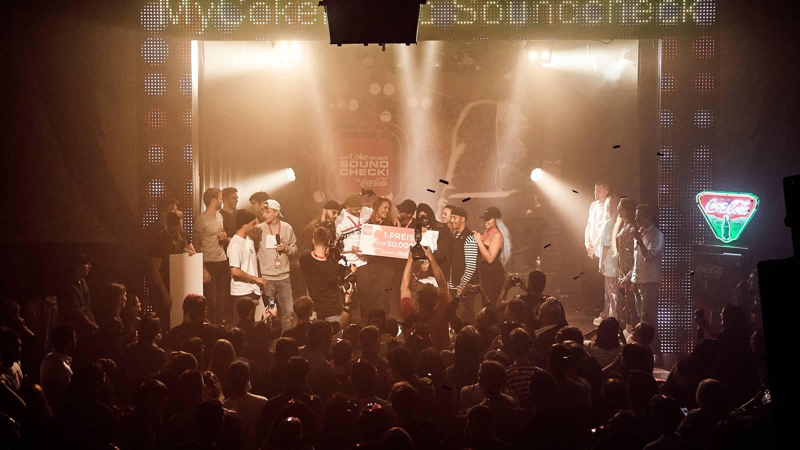 MyCokeMusic Soundcheck (© Virgin Radio Switzerland)