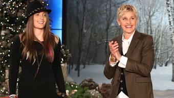 Paris Jackson bei Ellen DeGeneres