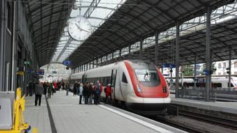 Zwischen Luzern und Olten sowie Luzern und Bern fallen in den kommenden Tagen mehrere Nachtzüge aus.