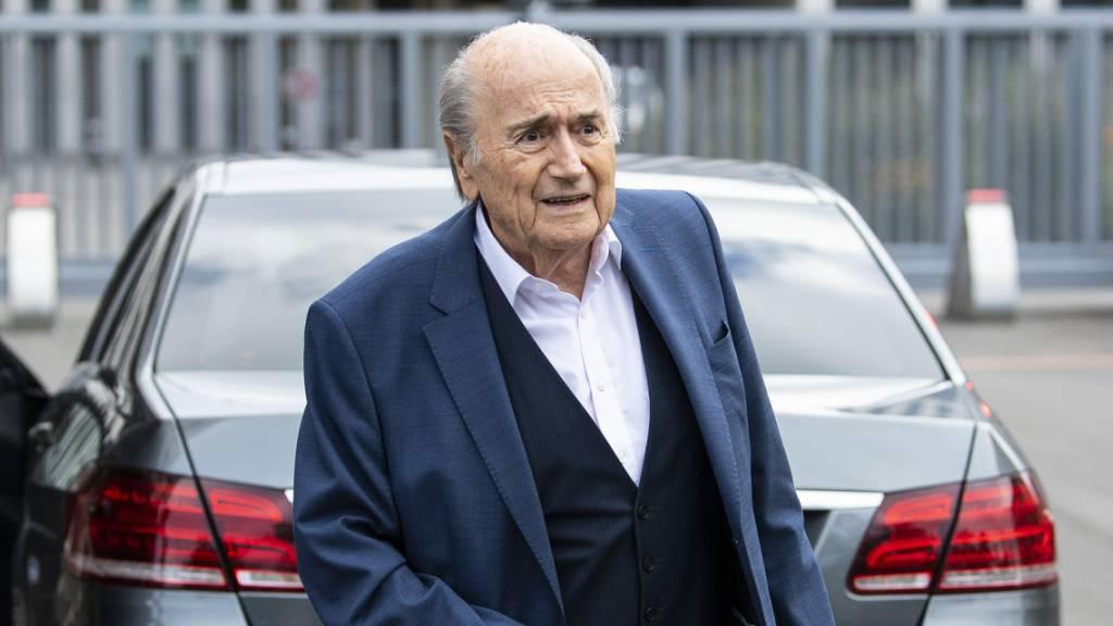 Wieder Ärger für Sepp Blatter: Die FIFA hat ihren ehemaligen Präsidenten bei der Zürcher Staatsanwaltschaft angezeigt