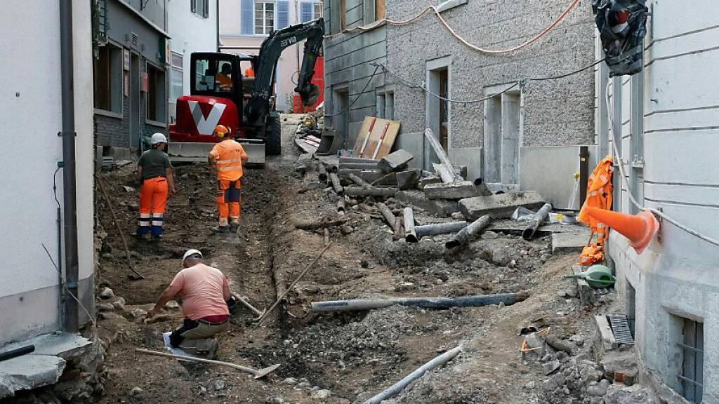 Hörnligasse in Baden: Römische Wohnbebauung dokumentiert