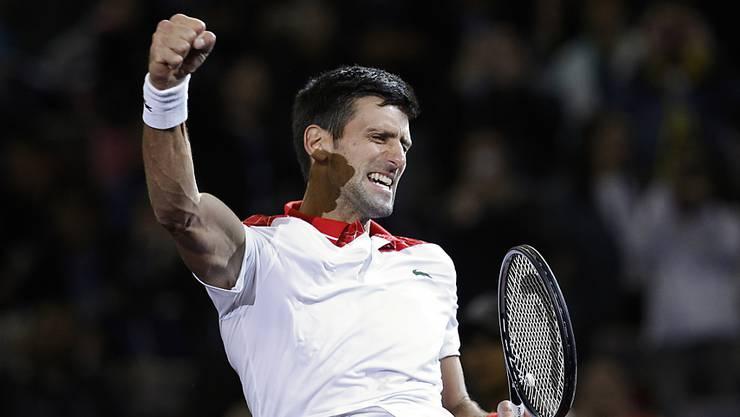Derzeit praktisch unschlagbar: Novak Djokovic