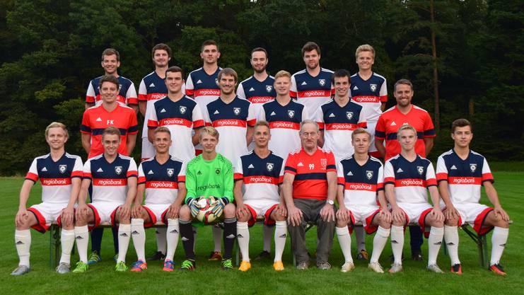 Teamfoto FC Lommiswil