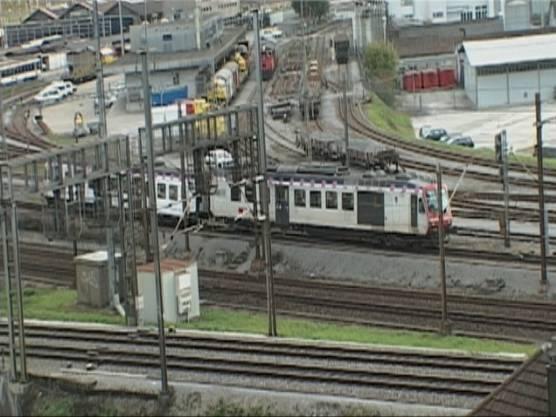 Am Unfall beteiligt waren die S9 («Läufelfingerli»)...