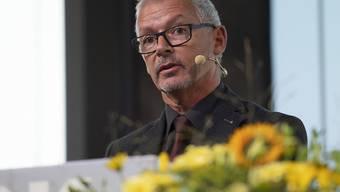 Der St. Galler Regierungsrat Martin Klöti entschuldigt sich für das Unrecht und Leid, das Opfern fürsorgerischer Zwangsmassnahmen geschehen ist.