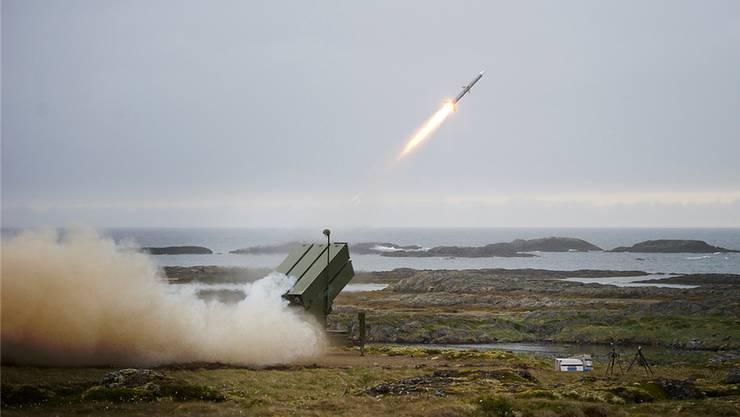 Das norwegische Nasams-Luftabwehrsystem der Firma Kongsberg hat das VBS bei der Evaluation der Bodluv-Systeme ignoriert. HO