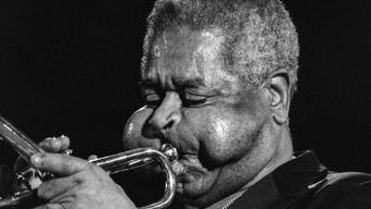 Dizzy Gillespie spielte 1988 am Jazz-Festival in Bern.